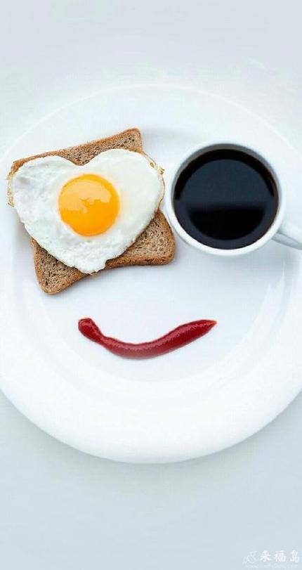 每天清晨送自己一个微笑