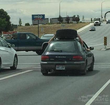 麻麻再也不用担心我的车子半路爆胎了