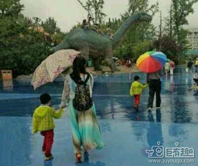 一张图告诉你,男人带孩子与女人带孩子的区别