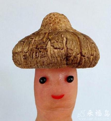 这蘑菇帽子真心不错